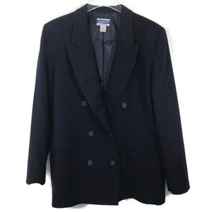 Pendleton Navy Double Breasted Vintage Blazer